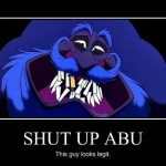 Aladdin Never Listens To Abu Right Away