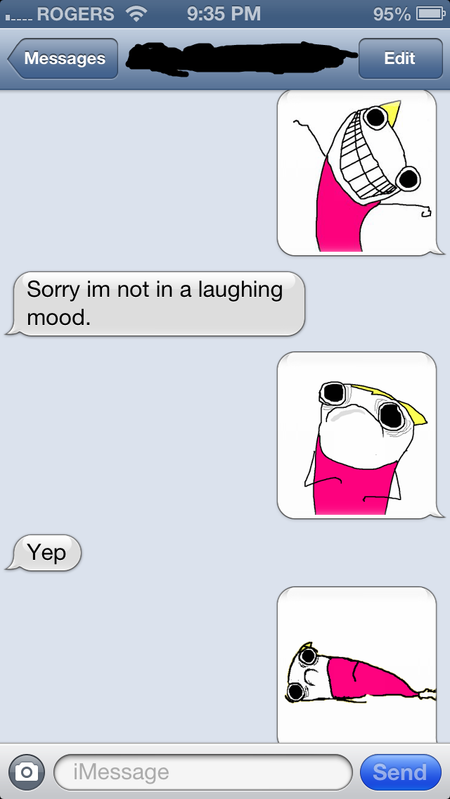 Witty texts to send a girl