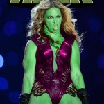 Beyonce Goes Incredible Hulk Derp