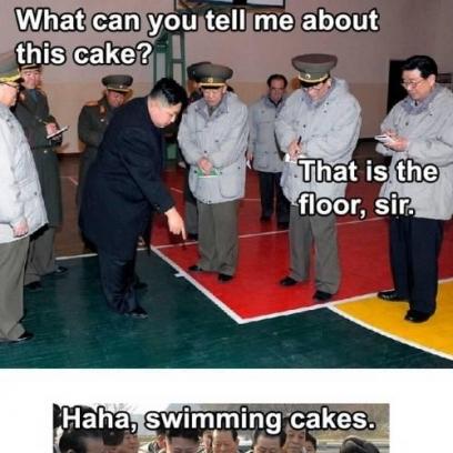 Kim Jong Un Meme On Is This Cake