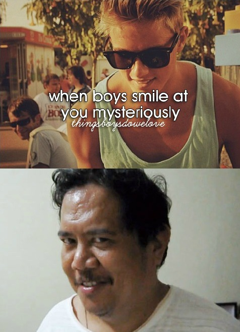 Little Girl Funny Smile Meme : When boys smile at you mysteriously with creepy intentions
