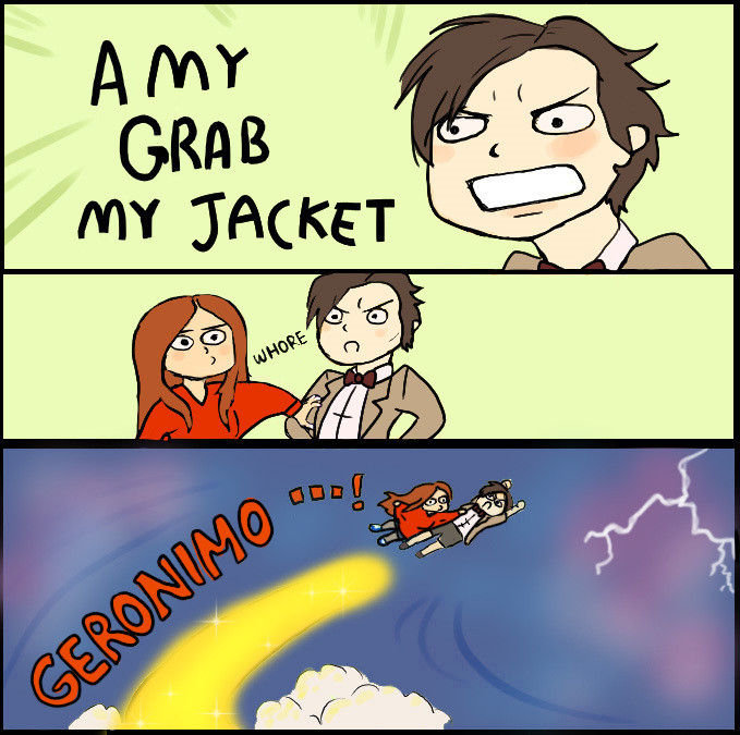 Doctor Who Grab My Jac...