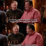 Cam & Mitchell Play The Alcoholism Game On Modern Family