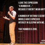 Comedian Keith Newman On The Number Of