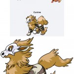 Cubone & Arcanine Pokemon Fusion Give Birth To The Awesome Cunine