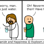 Jesus Is Always The Designated Drunk Driver In Comic By Explosm