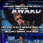 Jimmy Kimmel On Justin Bieber's Billboard Awards Speech