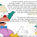 Krusty The Clown Was Supposed To Be Homer Simpson's Secret Identity
