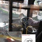 One Bus Driver You Don't Want To Cross Paths With While Driving
