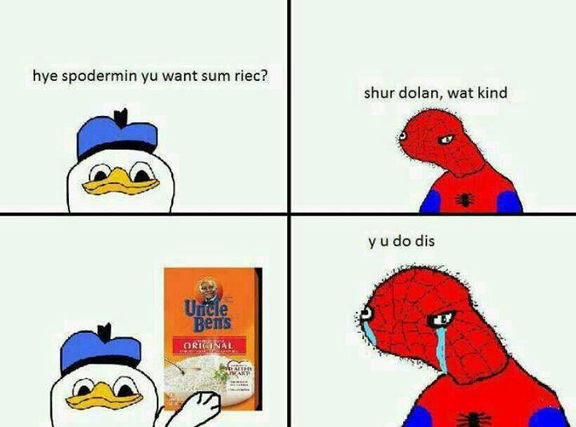 Dolan duck spiderman - photo#1