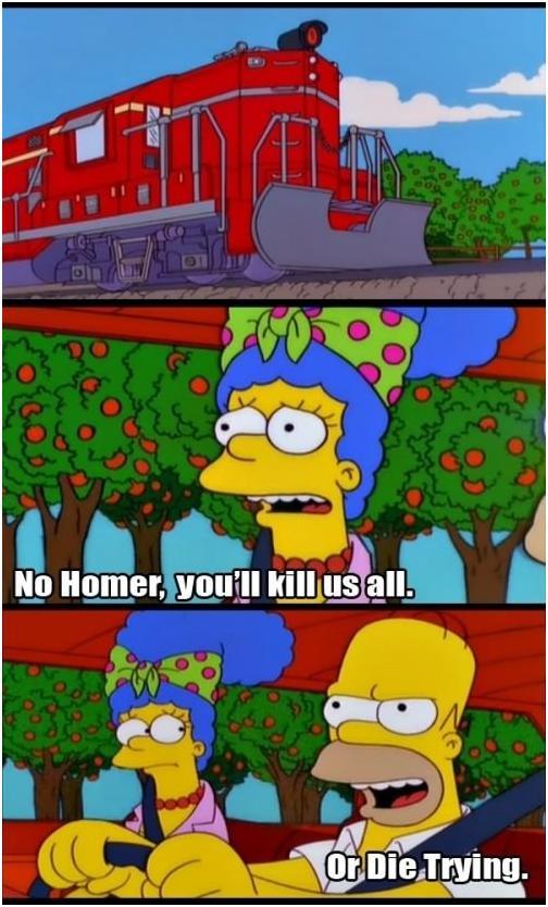 Lustige Simpsons-Sprüche