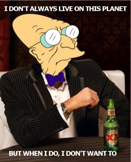 professor farnsworth - curb your enthusiasm - YouTube |Professor Farnsworth Meme Not Fair