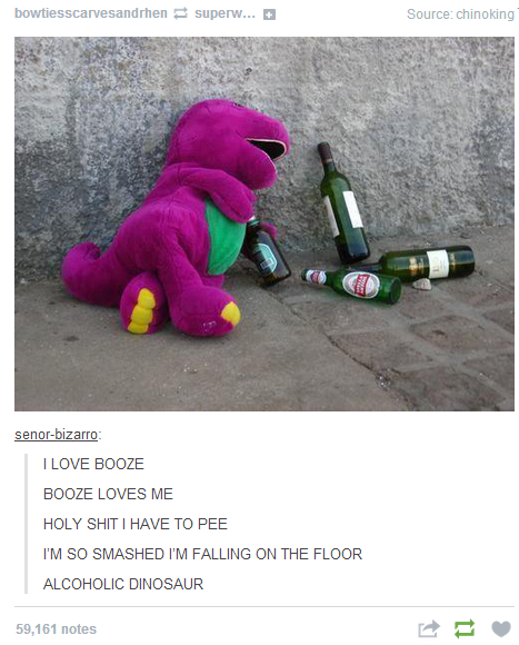 Alcoholic Barney's Theme Song
