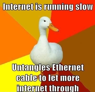 how to make my internet run faster