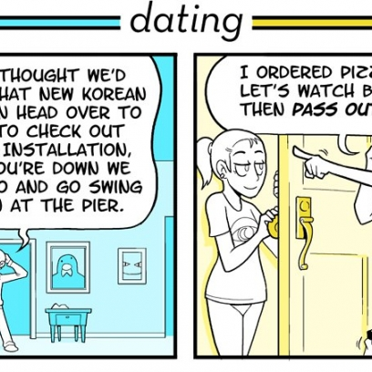 Dating versus relationship while problems