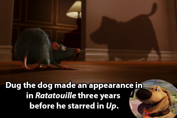 Dug The Dog Was A Character In Ratatouille Three Years Before Pixar S Up