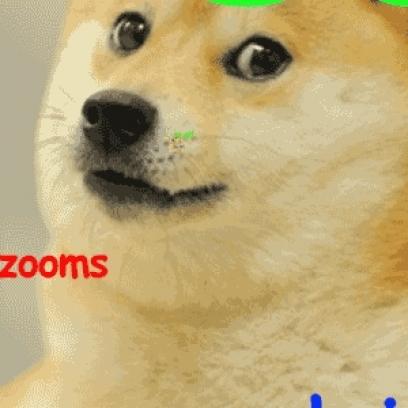 Shibe Doge Meme Zoom To Infinity Gif Wow_408x408 shibe doge meme zoom to infinity gif wow