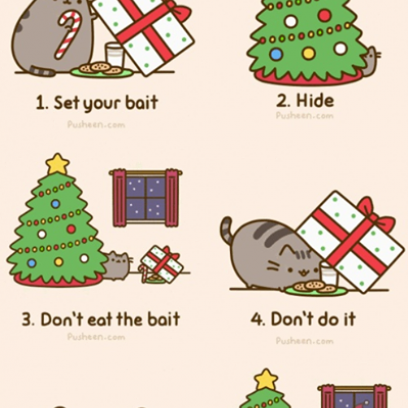 How Pusheen Cat Plotted To Capture Santa Amp Failed