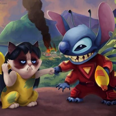 Grumpy Cat Disney Pictures