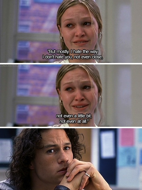 10 thinks i hate about you:
