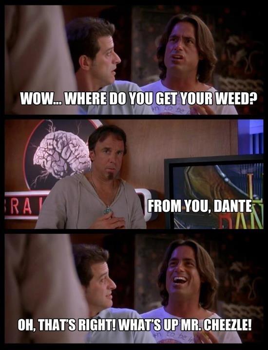 Dante Is a Big Fan Of Mr. Cheezles Weed In Grandmas Boy dante is a big fan of mr cheezle's weed in grandma's boy