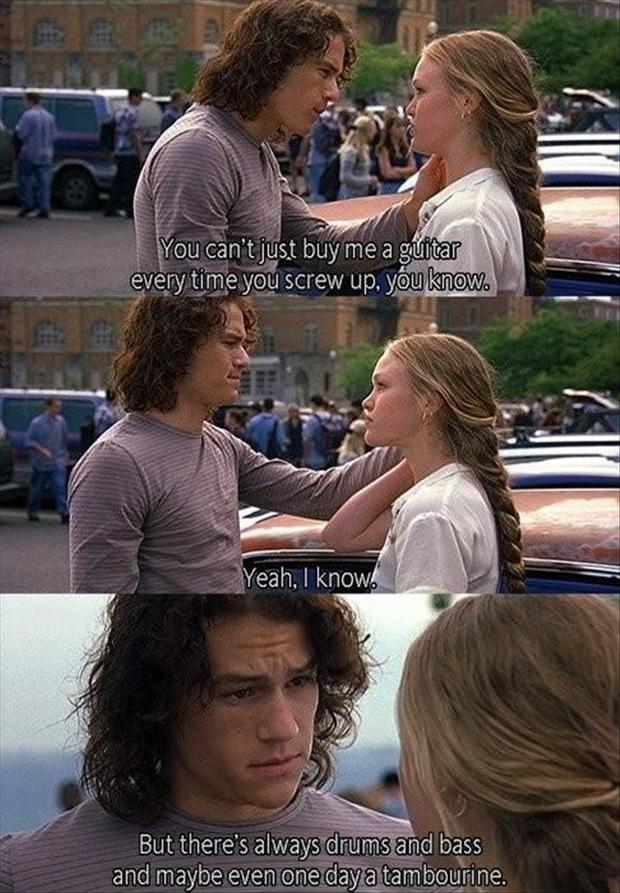 10 Kitchen And Home Decor Items Every 20 Something Needs: Heath Ledger Buys Julia Stiles A New Guitar At The End Of