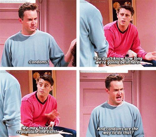 Friends Joey Drinks Milk Episode