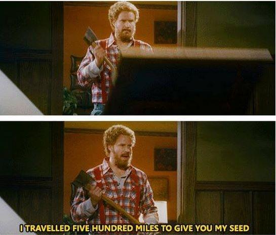 Lumberjack Will Ferrell Travels 500 Miles To Get Romantic In ...