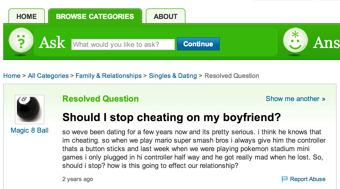 What to do when you find out your boyfriend is on a dating site