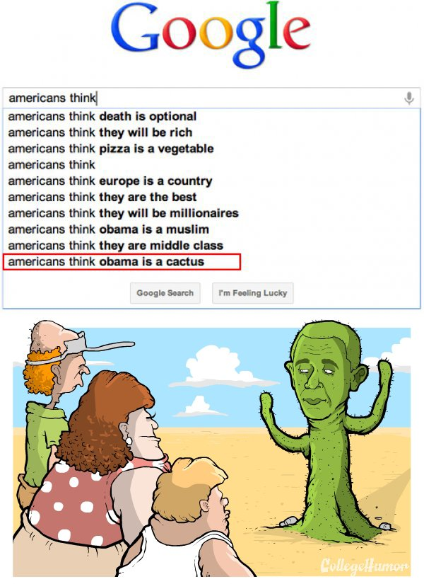 America Knows Obama Is A Commie Cactus On College Humor